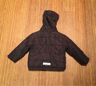 Jaqueta hivern nen amb caputxa