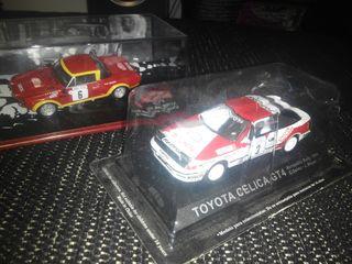 Fiat 124 abarth 1:43