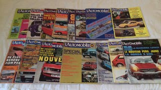 15 Revistas L`AUTOMOBILE