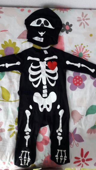 Disfraz Halloween esqueleto