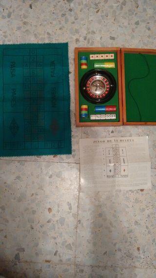 Juego Poker, ruleta, dados.