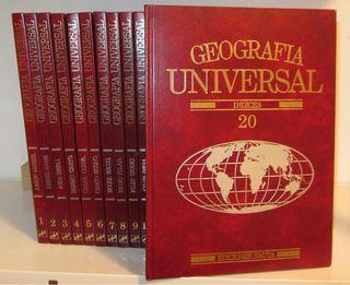 Enciclopedia Geografía Universal. Edic. Nauta 1985