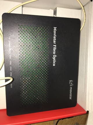 Router Movistar fibra , Vodafone etc..