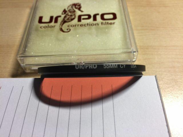 Filtro ojo URPro CY cristal 55mm