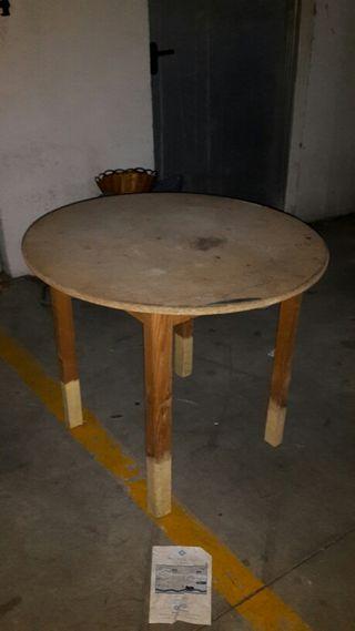 Mesa de madera de segunda mano por 25 en m laga wallapop for Wallapop mesas