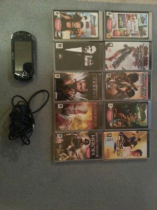 Oferton!!!! Sony PSP + 10 Juegos