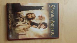 Trilogía el señor de los anillos DVD