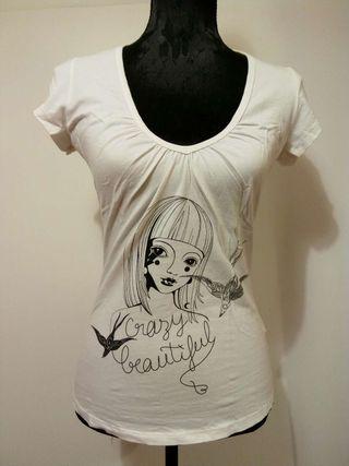 Camiseta blanca Fornarina
