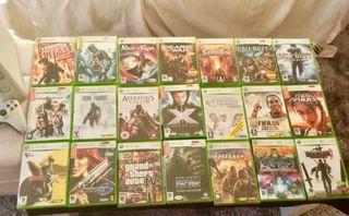 Xbox 360 + 21 juegos