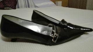 Zapatos charol talla 38