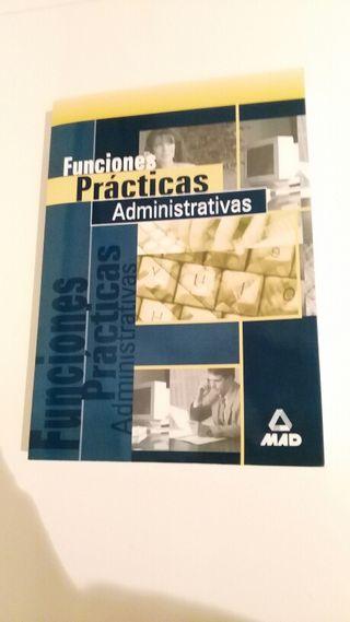 Libro funciones practicas administrativas