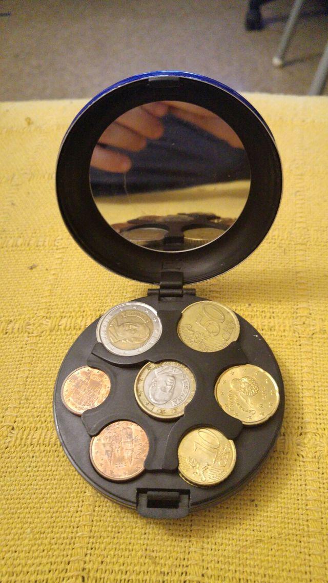 Monedero clasificadora de monedas aluminio