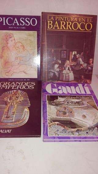 4 llibres art i pintura