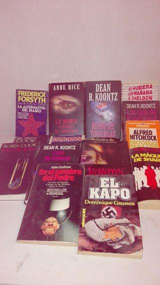 12 llibres misteri o policiacs