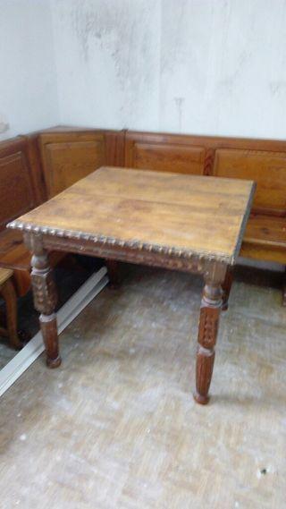 Mesa antigua madera budia