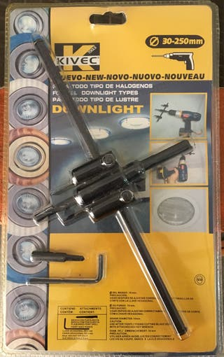 Cuchilla para agujeros Downlight