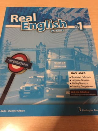 VENDO LIBRO REAL ENGLISH 1ESO