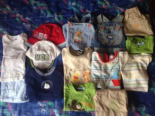 Lote Ropa Para Bebe 3 -6 Meses De Verano Para Niño