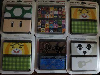 Cubiertas COVER PLATES New Nintendo 3DS - carcasas