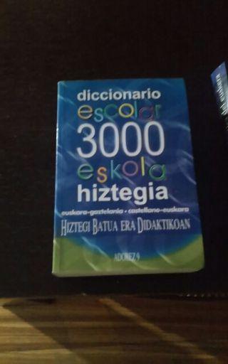 Hiztegia/ diccionario euskera
