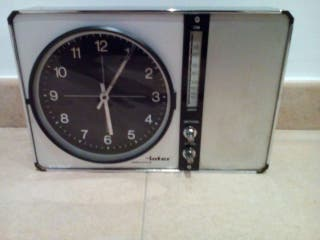 Radio reloj inter