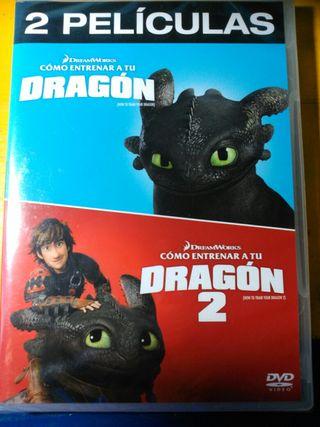 Como entrenar a tu dragon 1 y 2