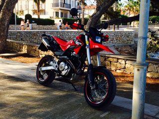 Moto Honda FMX 650