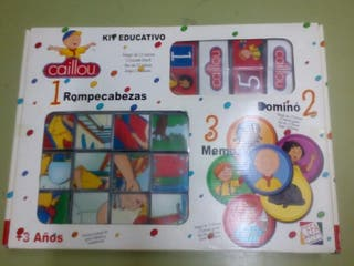 Kit educativo Caillou
