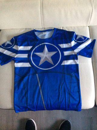Camiseta de deporte súper héroes