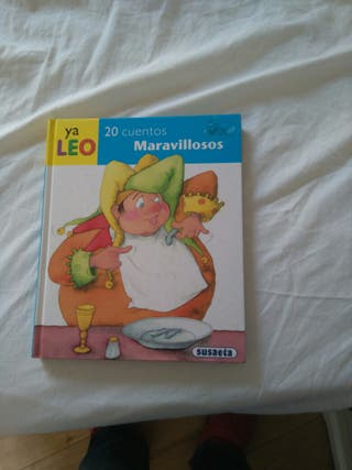 Libro con 20 cuentos infantiles