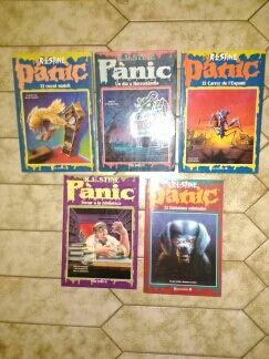 Pánic llibres lote 5