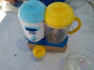 Maquina para hacer comida de bebe