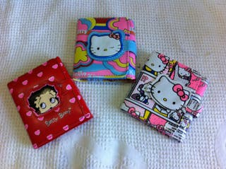 Cartera monedero,nuevo Kero Betty Boop Hello Kitty