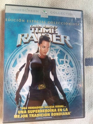 Tomb raider lara croft dvd