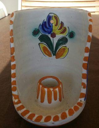 Palmatoria de cerámica