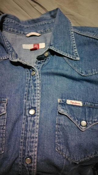 "Camisa VINTAGE ""pepe jeans"""