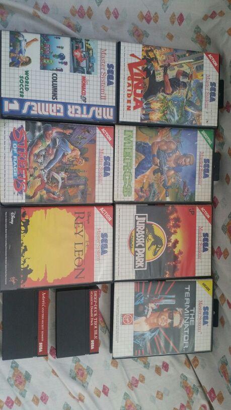 Juegos Sega Master System De Segunda Mano Por 4 En Riba Roja De