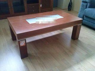 Mesa salon cerezo