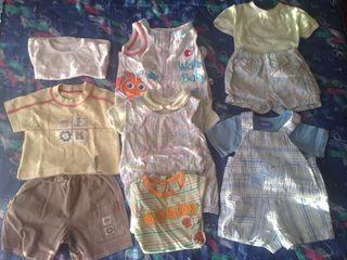 Lote Ropa De Bebe Niño 1-3 Meses