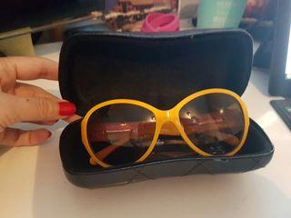 Gafas Chanel amarillas