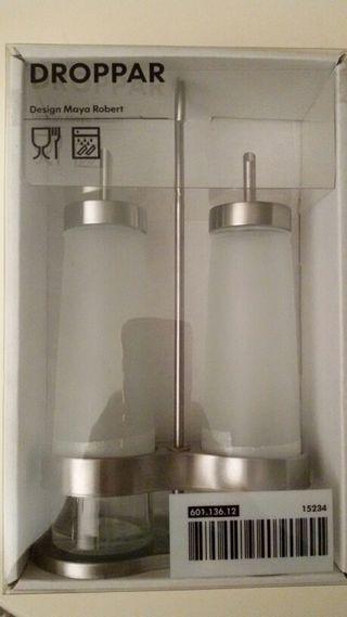 Aceitera/vinagrera de IKEA