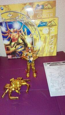 Figura de oro de cancer