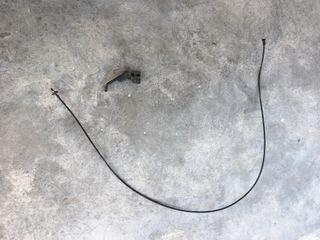 Palanca y cable apertura portón vw golf mk1