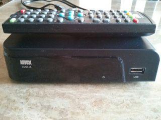 Receptor y grabador TDT HD