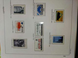Coleccion sellos y postales España 1976- 1988 FILABO