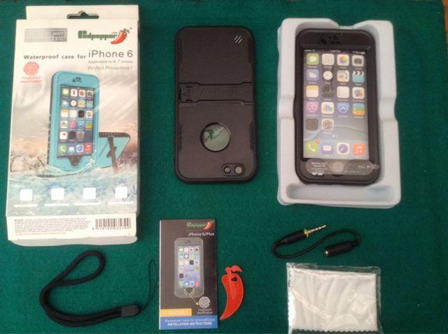 4829a24bf3a OFERTA ENVÍO GRATIS Carcasa Resistente Al Agua Para iPhone 6 y 6S de ...