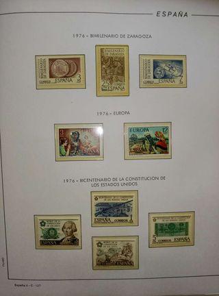 Coleccion sellos monarquia 1976-1988