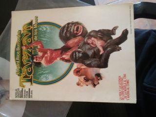 Cómic tarzan de los monos (1984)