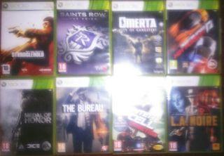 Juegos X box 360
