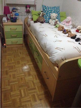 Habitaci n juvenil de segunda mano por 400 en madrid wallapop - Comprar habitacion juvenil segunda mano ...